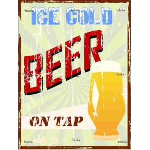 the gold beer on tap