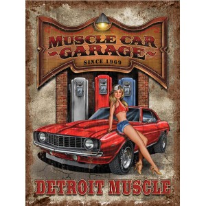 muscle car garage