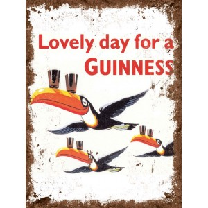 Loveley day for a Guinness