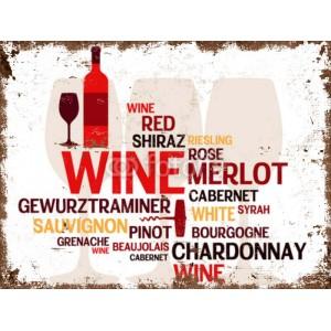 plakat wina