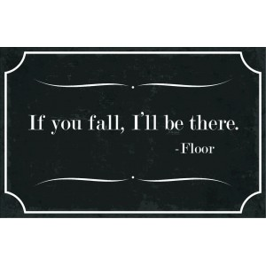 if you fall, I'll be there