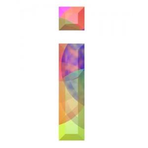 litera d - kryształ
