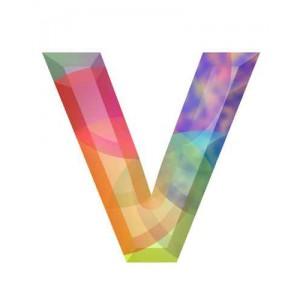 litera v - kryształ