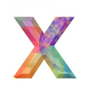 litera x - kryształ