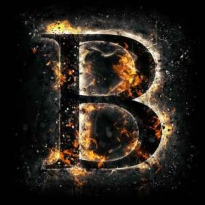 litera B - ogień