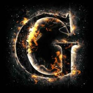 litera g - ogień