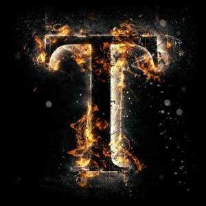 litera t - ogień