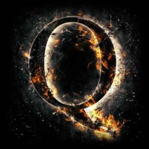 litera q - ogień