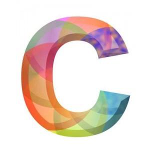 litera C - kryształ