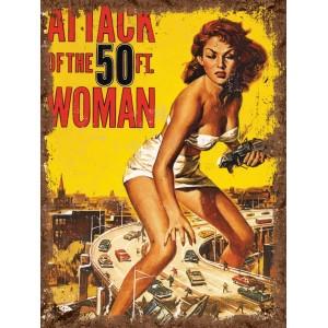 Attack Woman